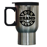 16 Oz STAINLESS STEEL COFFEE MUG